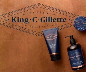 King C Gillette новая линейка по уходу за бородой