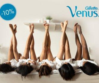 Наборы лезвий Venus со скидкой 10%