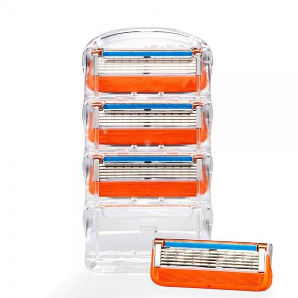 Бритвенный станок Gillette Fusion5 + 12 сменных кассет Fusion5