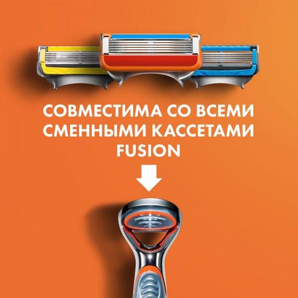 Годовой запас сменных кассет для бритья Gillette Fusion5, 8+8 (16 шт)