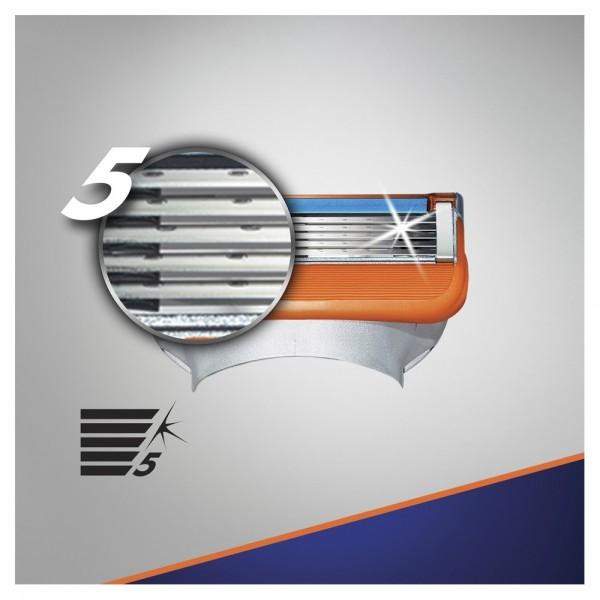 Сменные кассеты для бритья Gillette Fusion5 Power, 4 шт