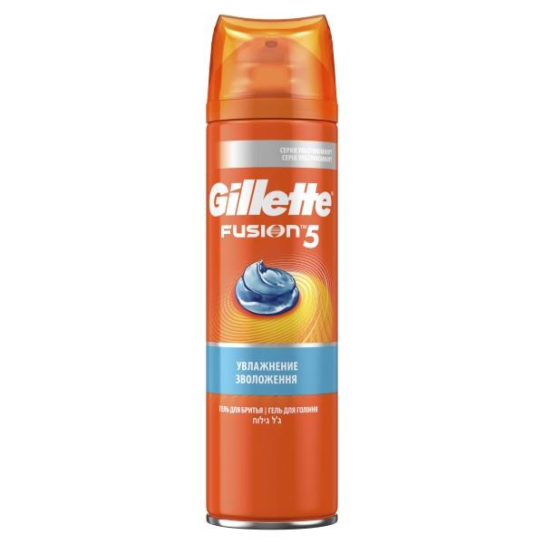 Гель для бритья Gillette Fusion 5 Ultra Moisturizing