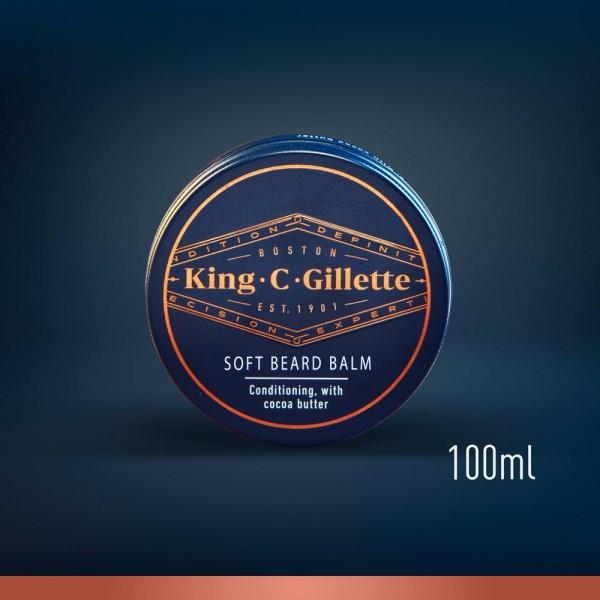 Бальзам для смягчения бороды King C. Gillette 100 мл