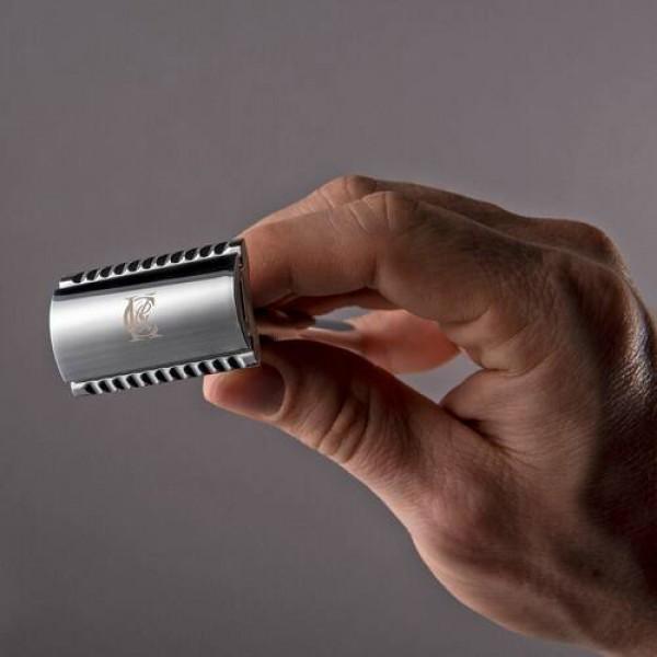 Безопасная бритва (Т-образная) с двусторонними лезвиями (5 шт.) King C. Gillette