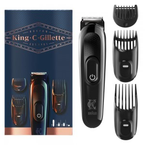 Триммер для бороды King C. Gillette