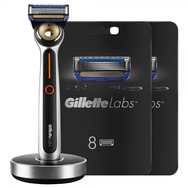 Бритвенный станок Gillette Labs Heated Razor + 18 сменных кассет