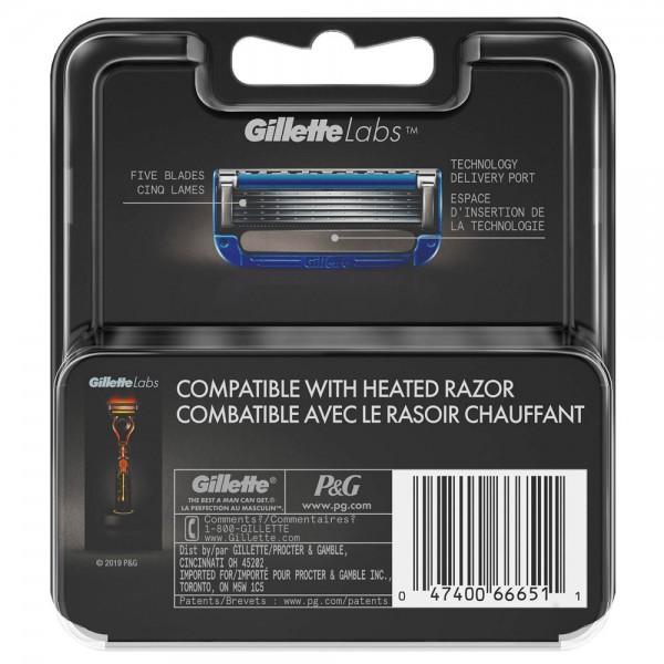 Бритвенный станок Gillette Labs Heated Razor + 4 сменные кассеты