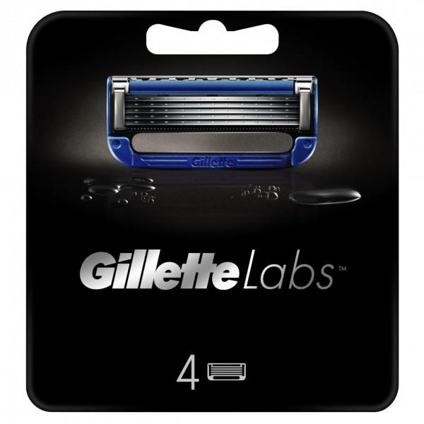 Сменные кассеты для бритья Gillette Labs Heated Razor, 4 шт