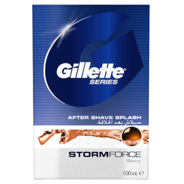 Лосьон после бритья Gillette Series Stormforce, 100 мл
