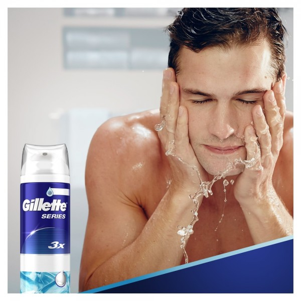 Пена для бритья Gillette Series Sensitive Cool, 250 мл