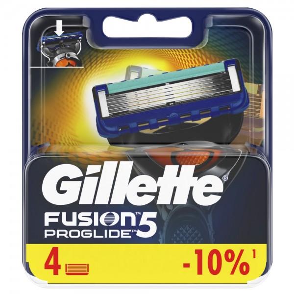 Сменные кассеты для бритья Gillette Fusion5 ProGlide, 4 шт