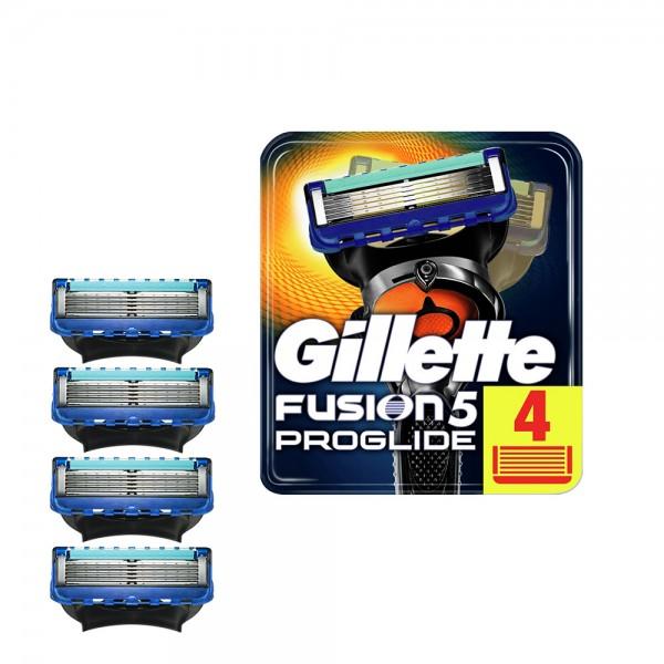 Годовой запас сменных кассет для бритья Gillette Fusion5 ProGlide, 4+4+4+4 (16 шт)