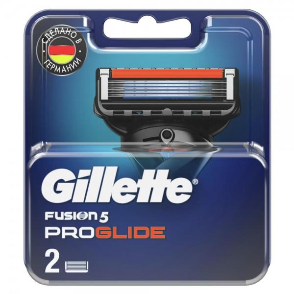 Сменные кассеты для бритья Gillette Fusion5 ProGlide, 2 шт
