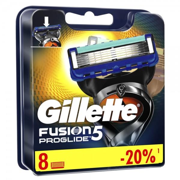 Сменные кассеты для бритья Gillette Fusion5 ProGlide, 8 шт