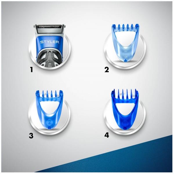 Мужская универсальная бритва-стайлер для бороды Gillette Styler 3 в 1