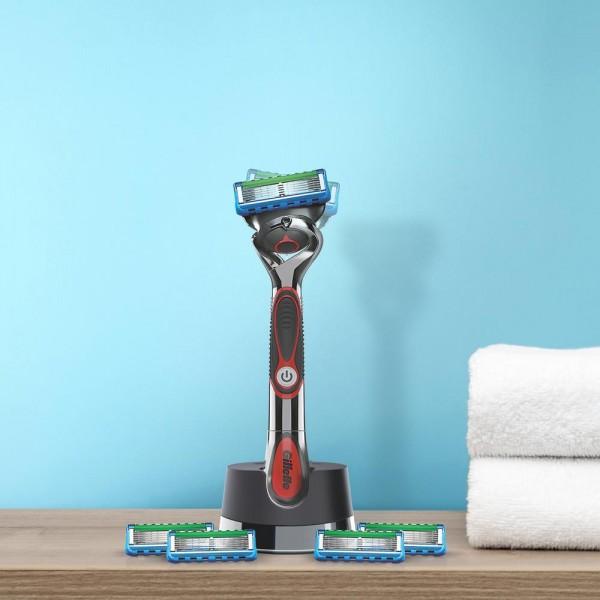 Подарочный набор Gillette Proglide Power с эксклюзивной подставкой для бритвы