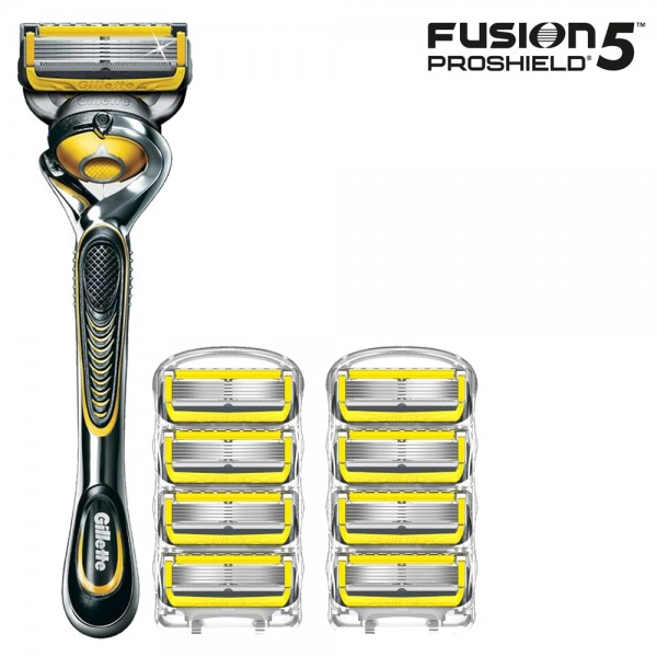 Бритвенный станок Gillette Fusion5 ProShield + 8 сменныx кассет Fusion5 ProShield
