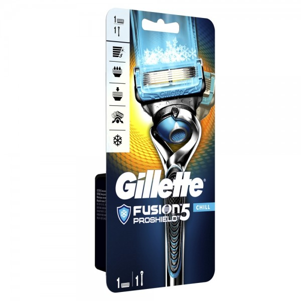 Бритвенный станок Gillette Fusion5 ProShield Chill