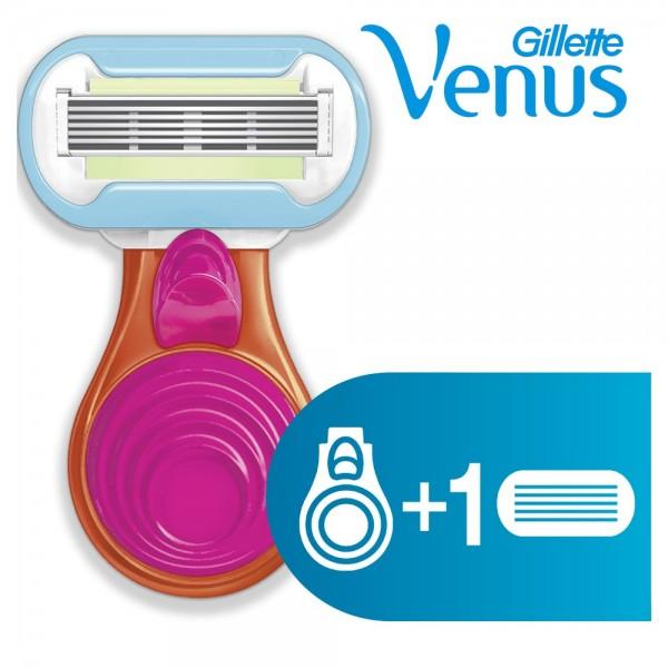 Подарочный набор с женской бритвой Gillette Venus Snap Embrace